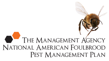 The Management Agency National American Foulbrood Pest Management Plan